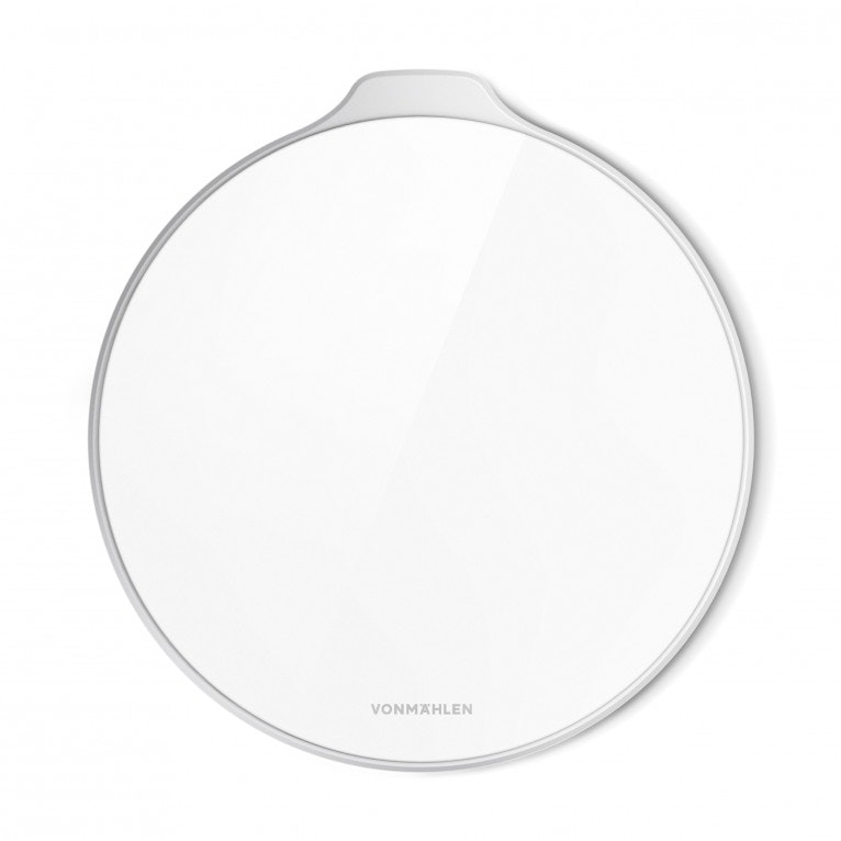 Aura acrylic glass - The Wireless Charging Pad silver